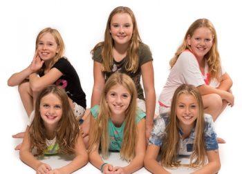 Groepsfotoshoot of een kinderfeestje