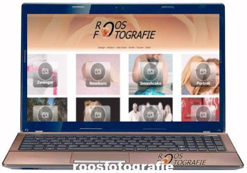 webdesign laptop roos